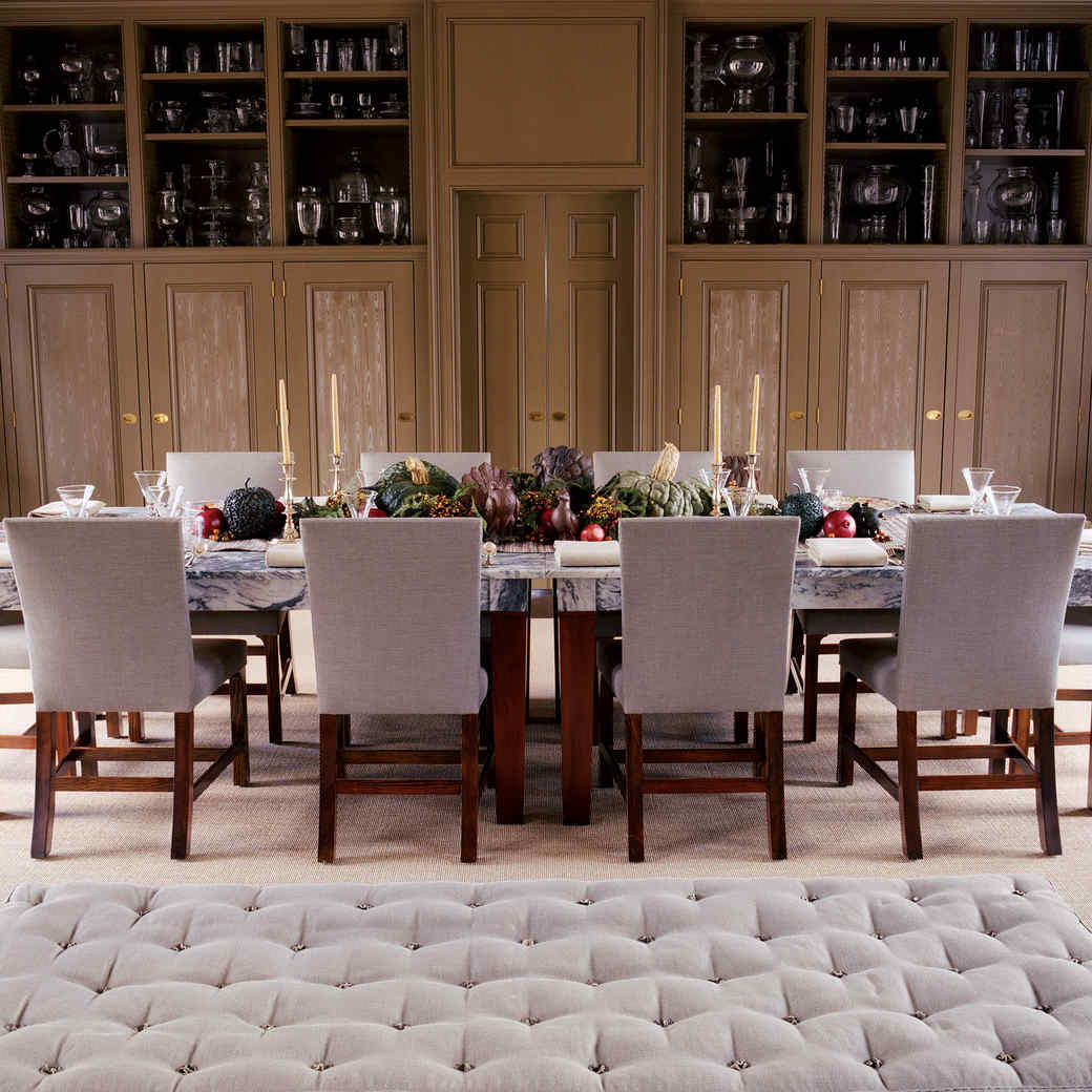 Marthau0027s Brown Room In Bedford: A Thanksgiving Masterpiece