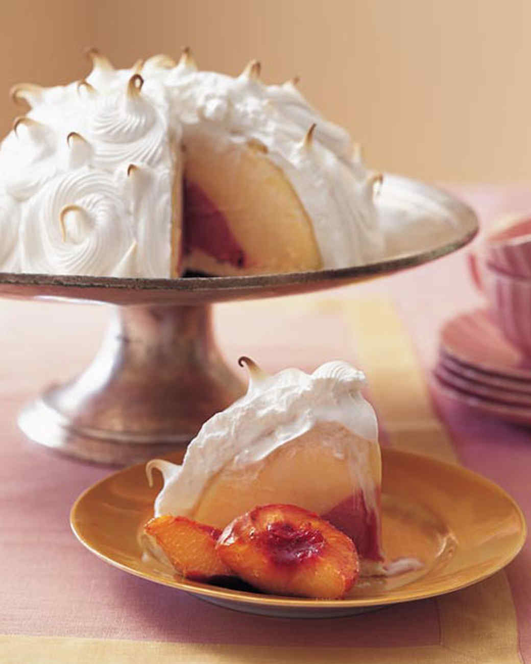 Beautiful Baked Alaska Desserts Martha Stewart
