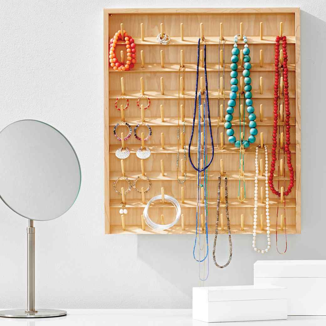 DIY Jewelry Organizers: 11 Ways to Untangle Your Necklaces, Bracelets, and Rings