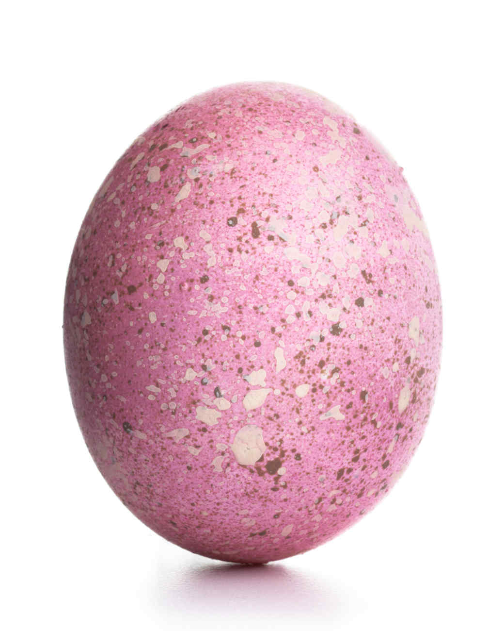 Speckled and Sponged Easter Egg Decorating Ideas | Martha