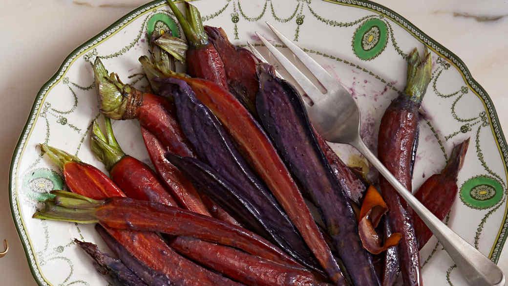 Miso-and-Honey-Glazed Carrots