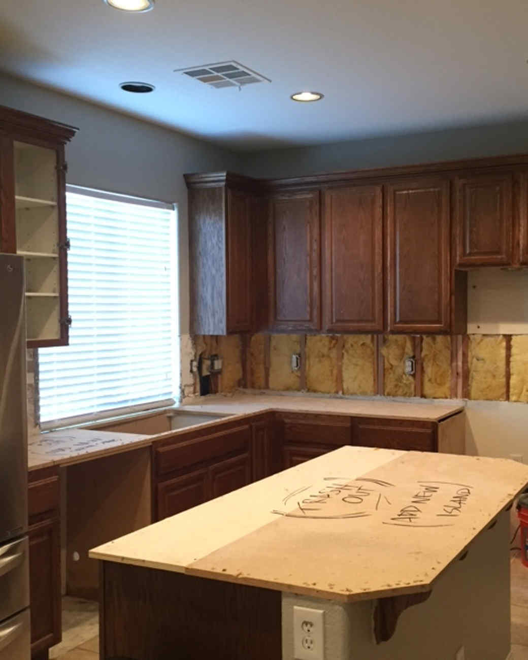 Kitchen Makeover From Dreary And Dated To Big Bright