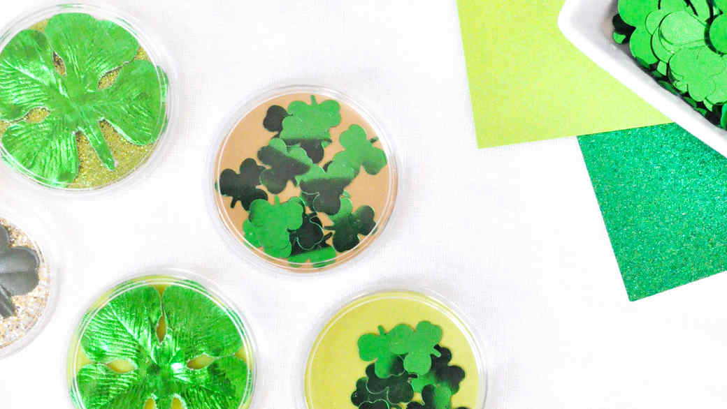 st patricks day good luck tokens alt