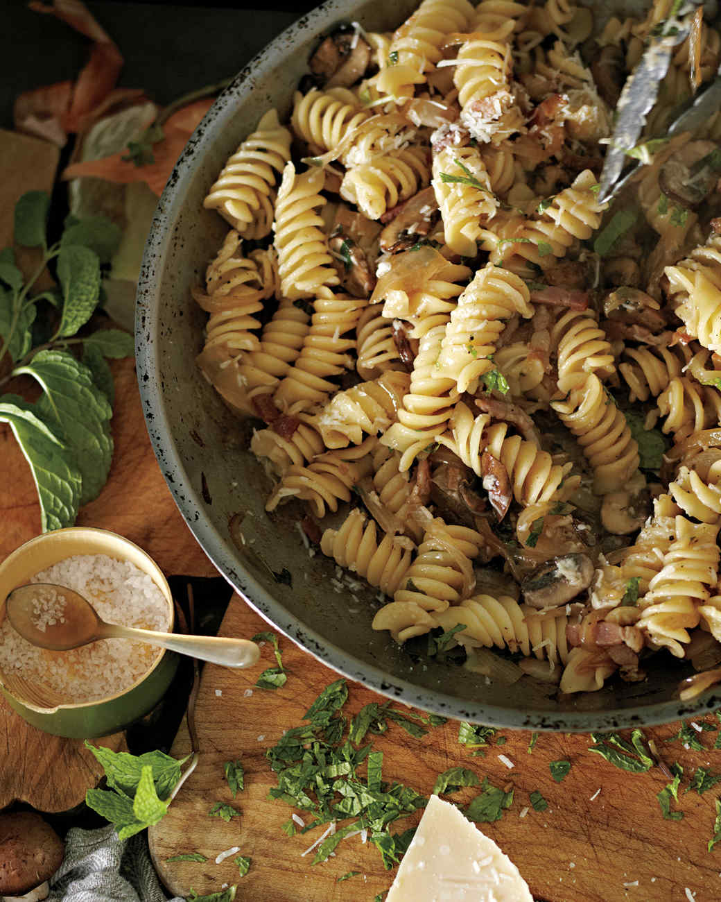 ... and Other Entirely Irresistible Bacon Pasta Recipes | Martha Stewart