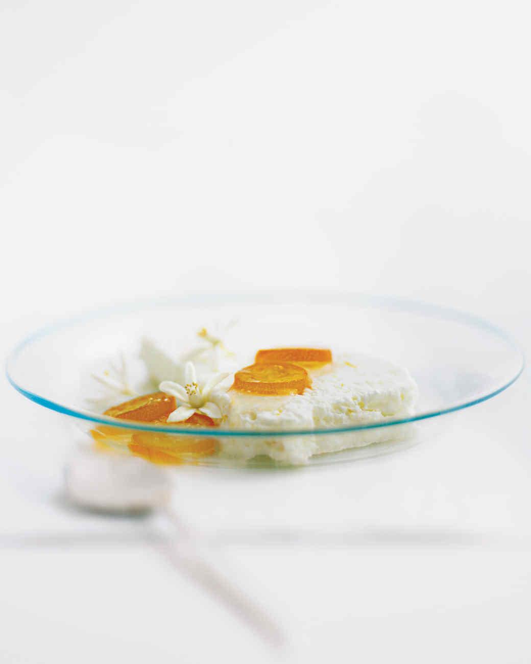 Orange and Buttermilk Parfait