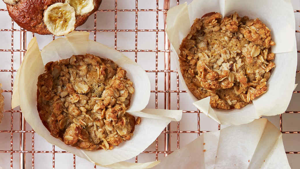Orange-and-Date-Crumble Muffins