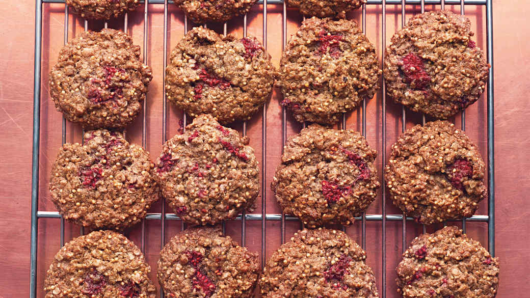 whole grain breakfast cookies
