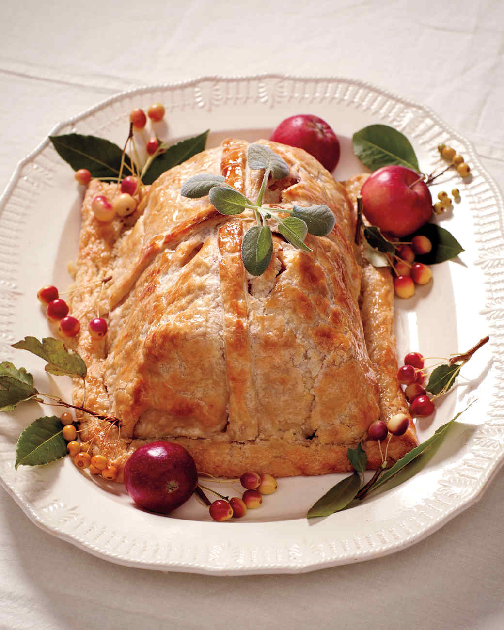 Apple-Stuffed Pork Wellington Recipe Martha Stewart