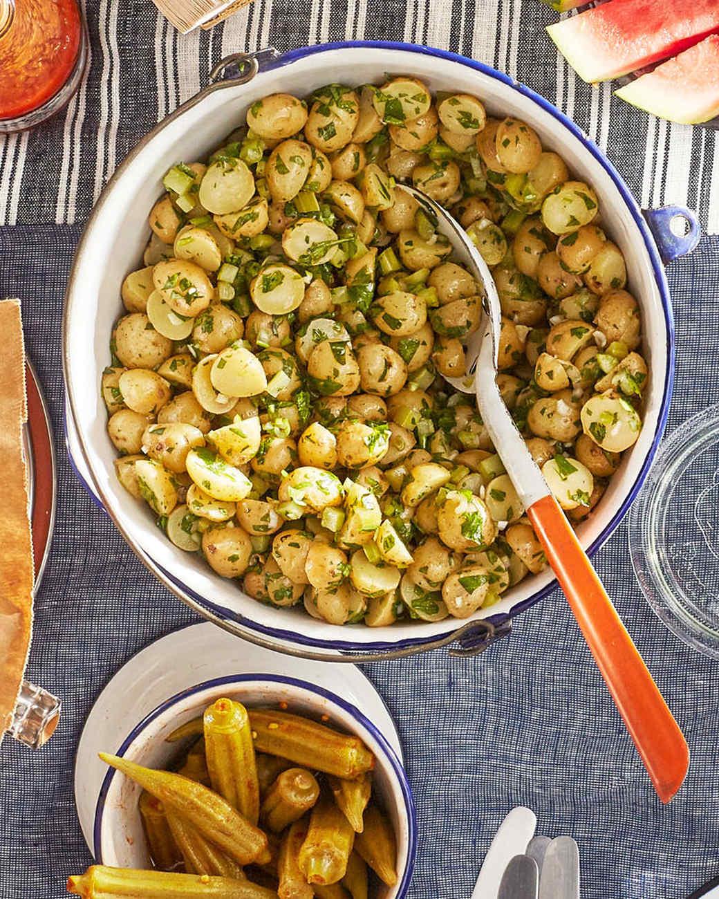 herbed celery-potato salad