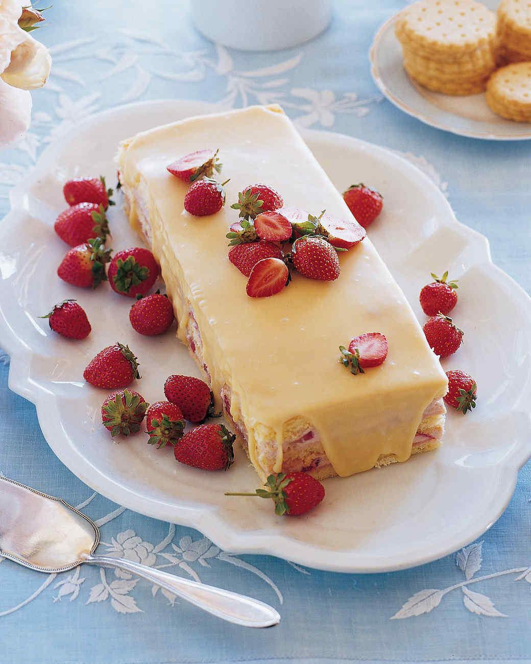 Strawberry Mousse Cake Recipe Martha Stewart