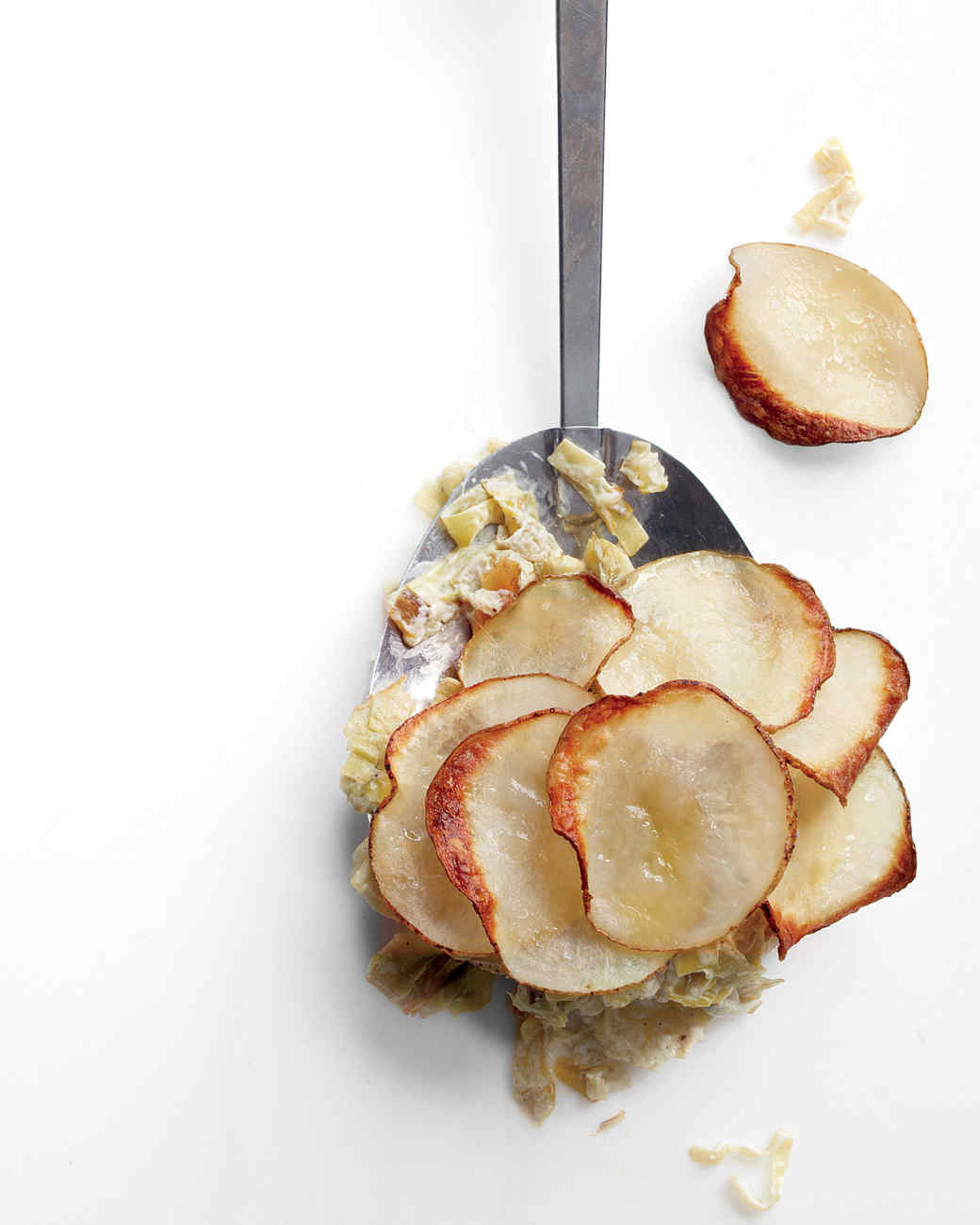Artichoke, Leek, and Potato Casserole Recipe | Martha Stewart