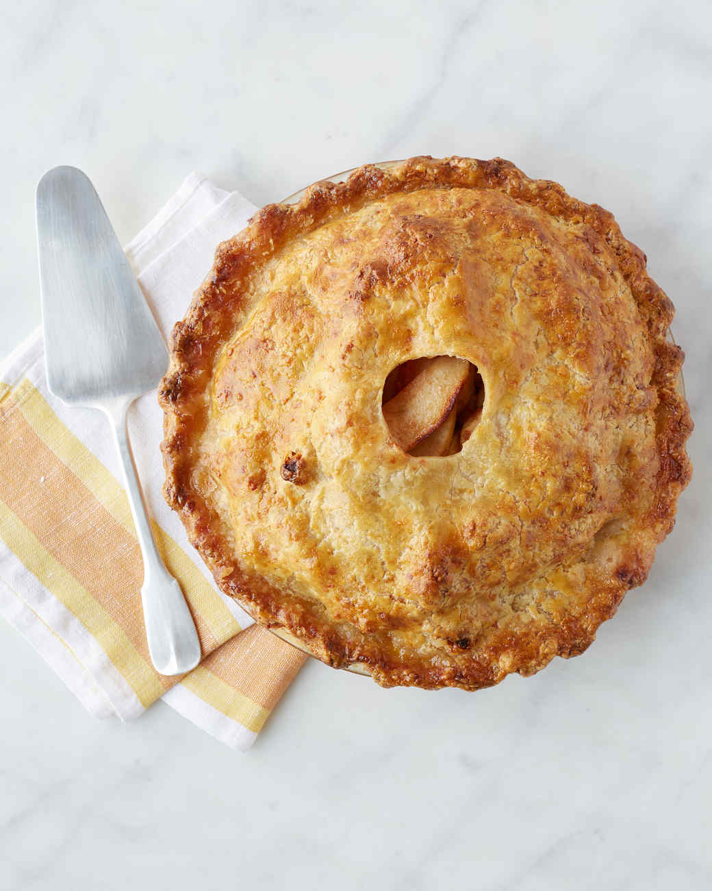 Cheddar-Crusted Apple Pie forecasting
