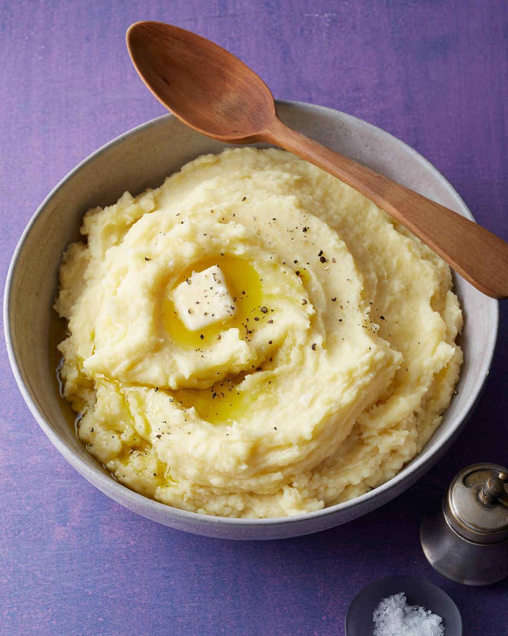Garlic-Thyme Mashed Potatoes