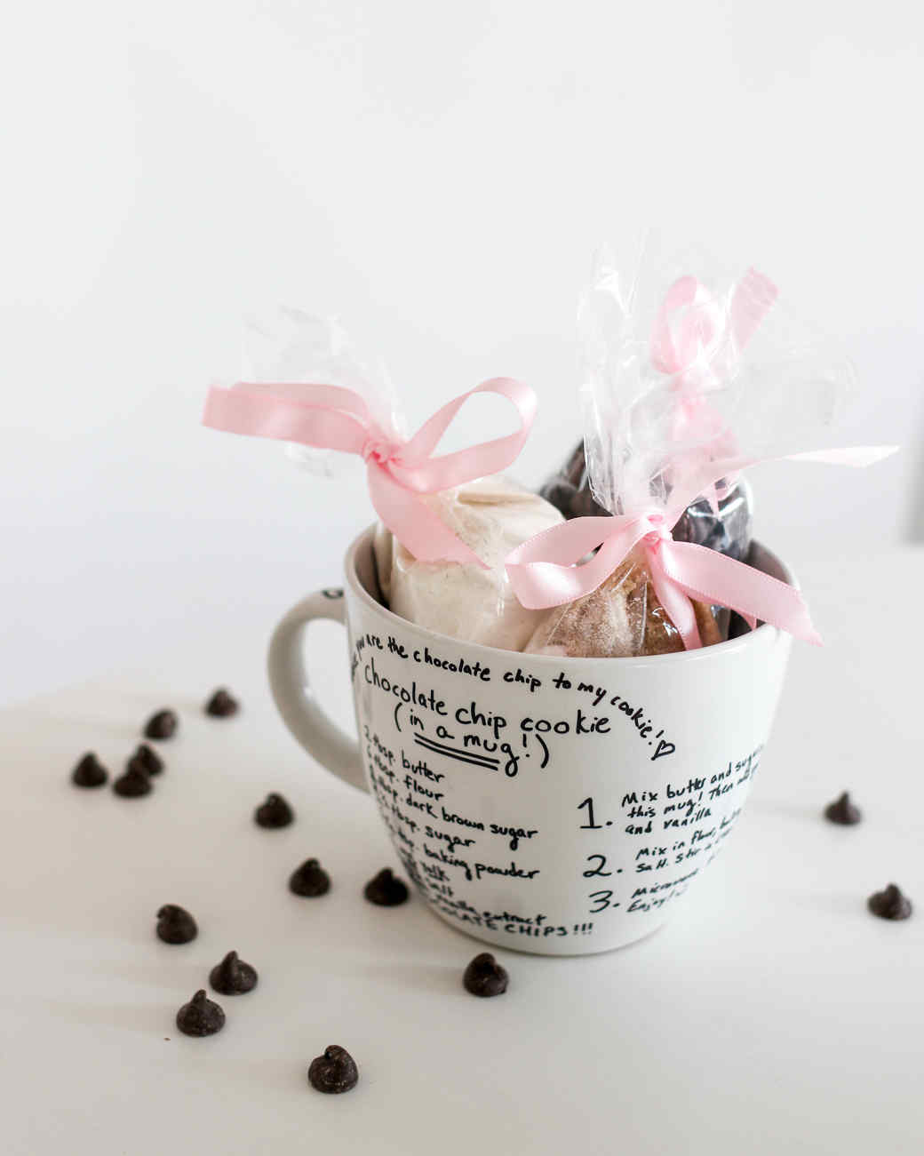 Valentine's Day DIY cookie mug