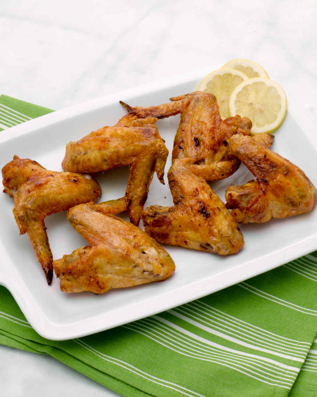 saffron roasted chicken wings recipe martha stewart. Black Bedroom Furniture Sets. Home Design Ideas