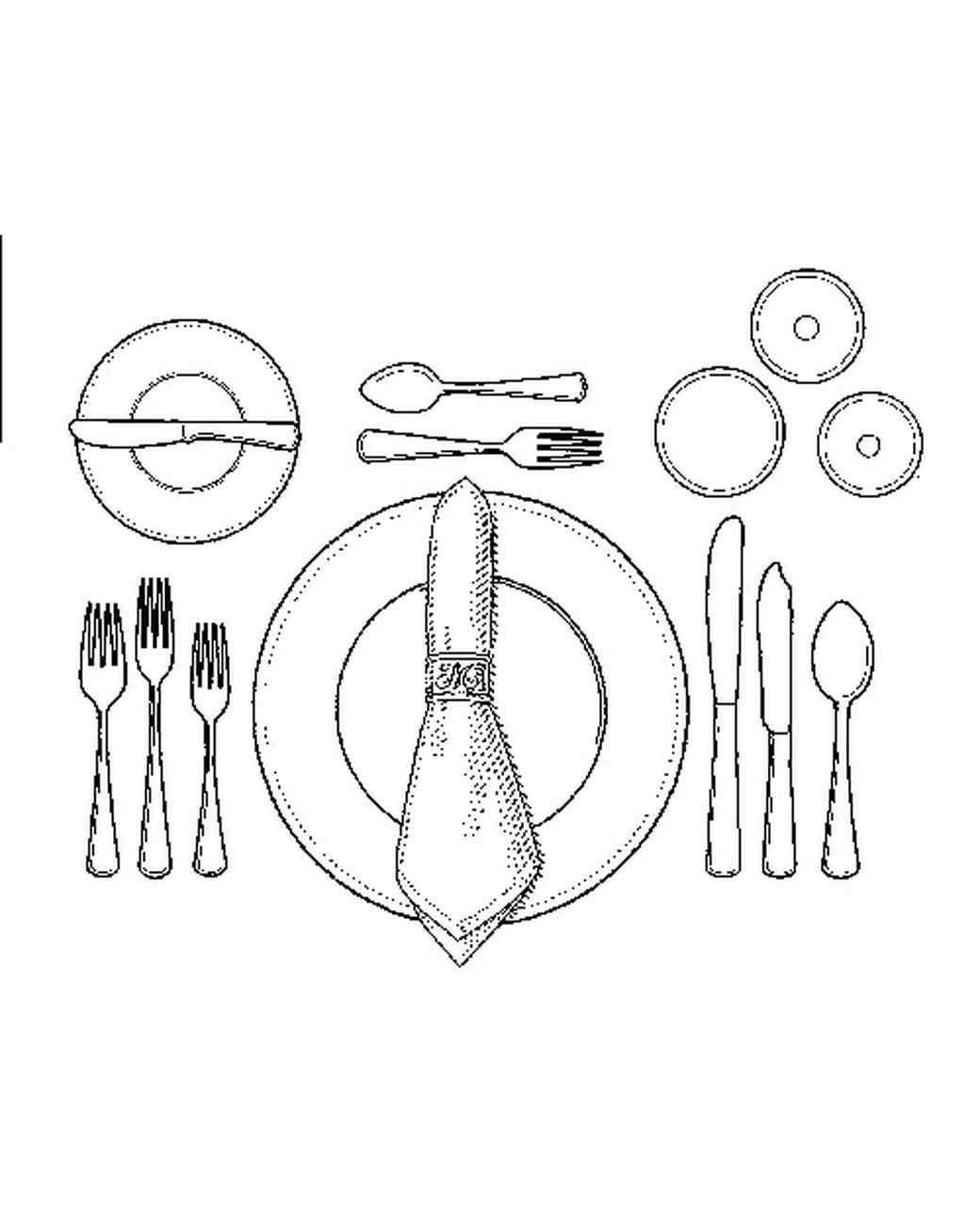 Formal dinner table setting etiquette - Before The First Course Once You Realize Table Setting