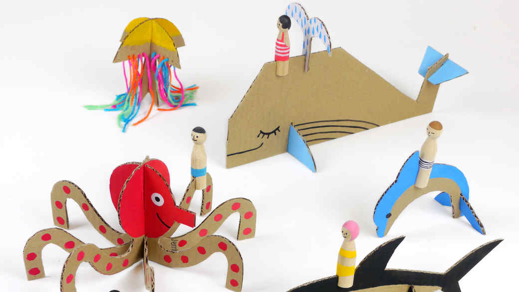 Thinking Outside the Box! 16 Ridiculously Cool Cardboard Crafts