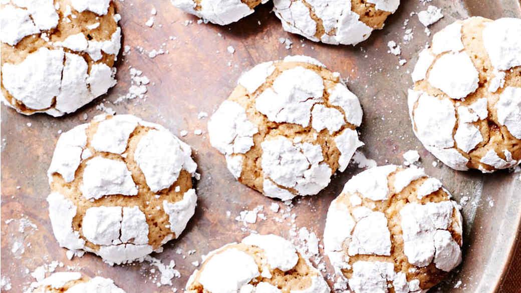 Lemony Brown-Butter Crinkle Cookies
