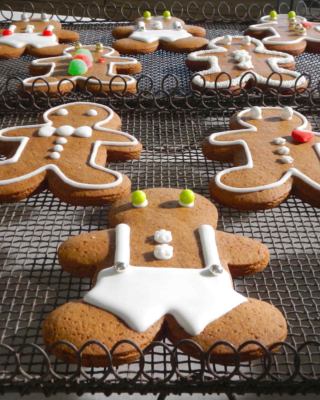 gingerbread men decorations recipe