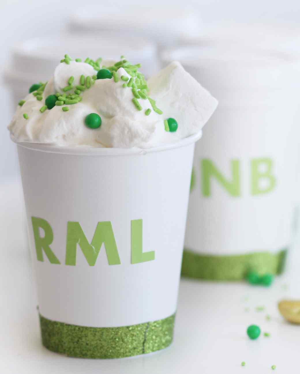 St. Patrick's Day Irish coffee cup-to-go
