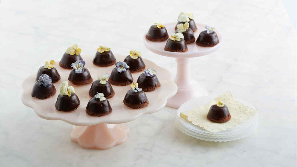 Mini Double Diablo Cupcakes