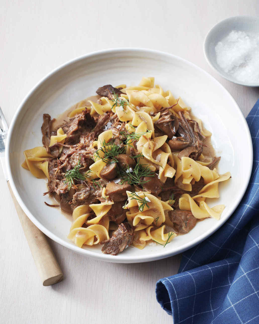 Slow Cooker Ground Beef Stroganoff Recipe: Beef Stroganoff