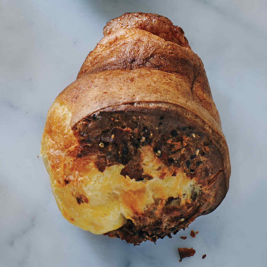 Bacon and Black Pepper Popovers