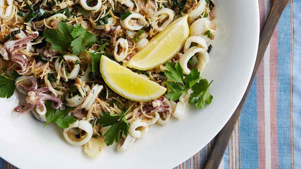 calamari vermicelli