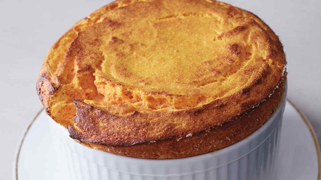 Carrot-and-Parsnip Souffle