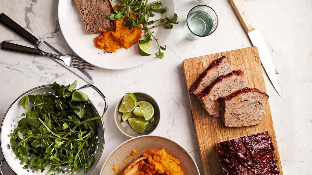 Chipotle-Glazed Turkey Meatloaf
