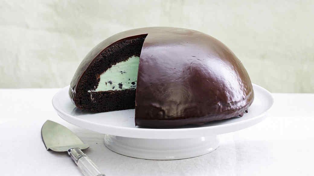 grasshopper dome ice cream cake