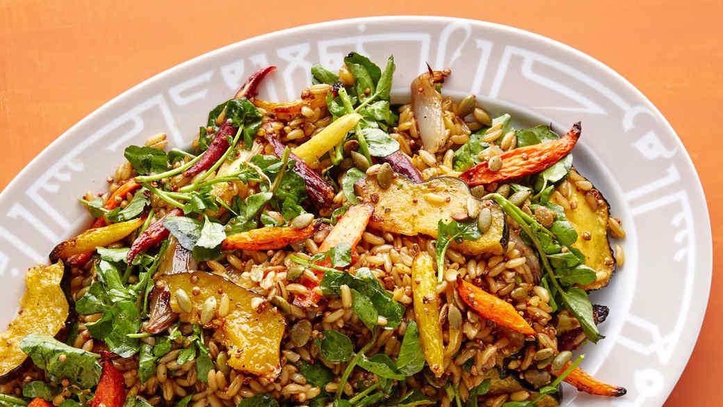 kamut roasted vegetables
