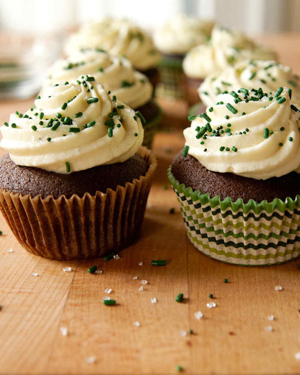 Irish Stout Cupcakes for St. Patrick's Day