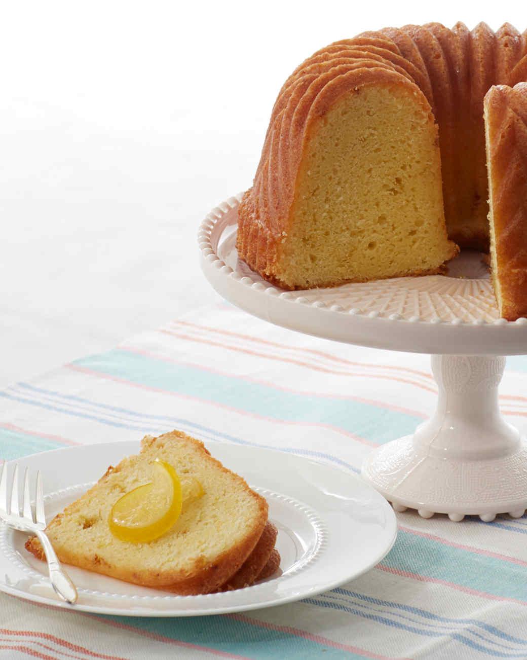 Lemon Bundt Cake Recipes Martha Stewart