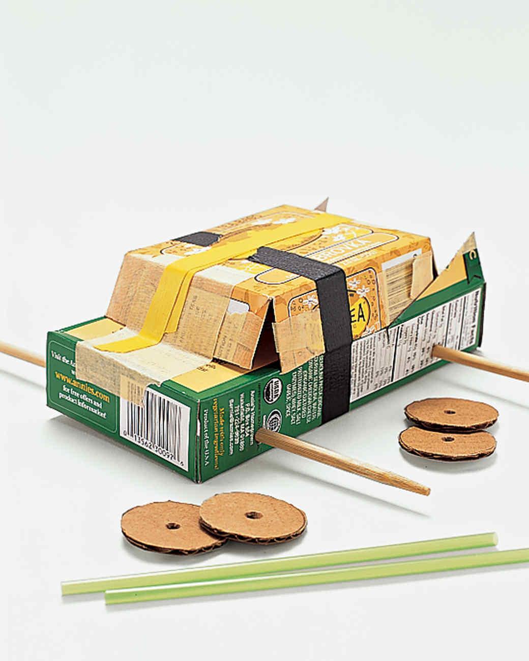 Papier mache vehicles martha stewart for How do you make paper mache glue at home