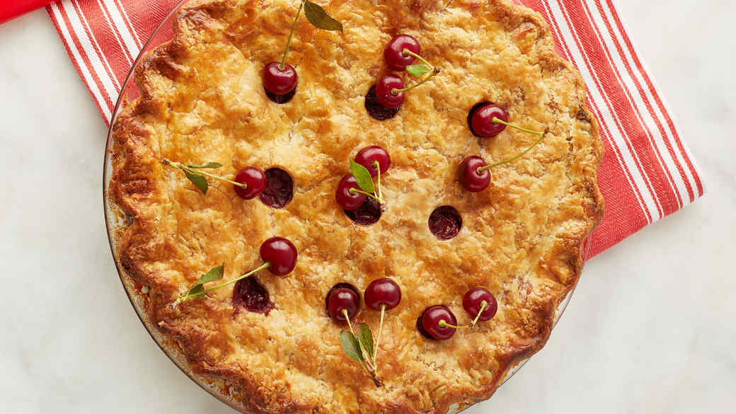 Martha's Sour Cherry Pie