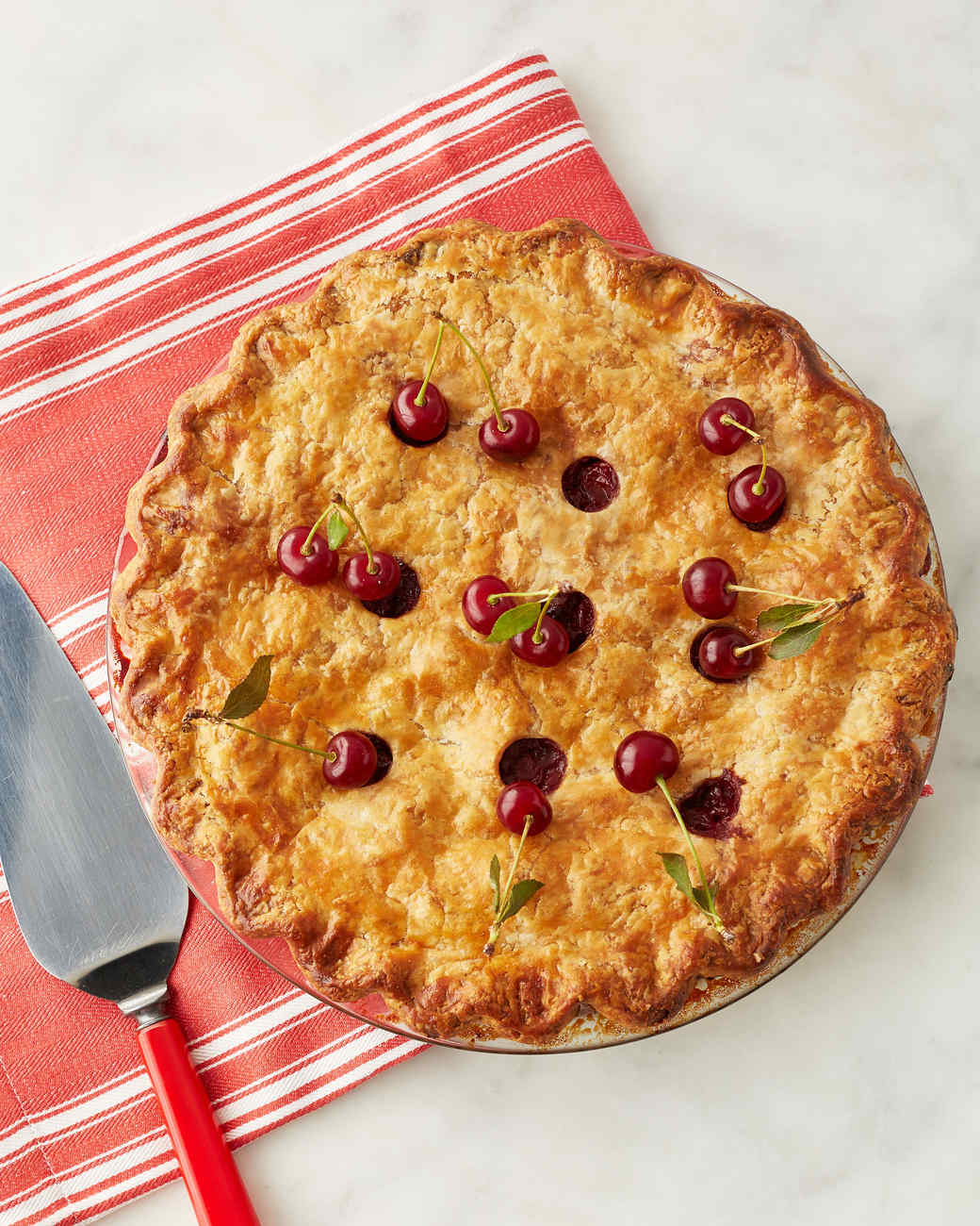 Martha's Sour Cherry Pie