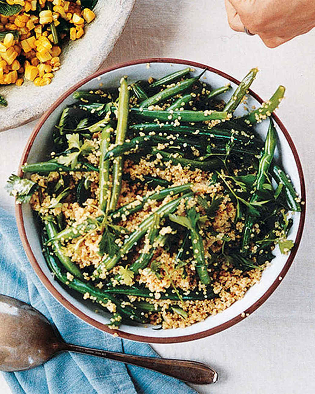 green bean quinoa salad