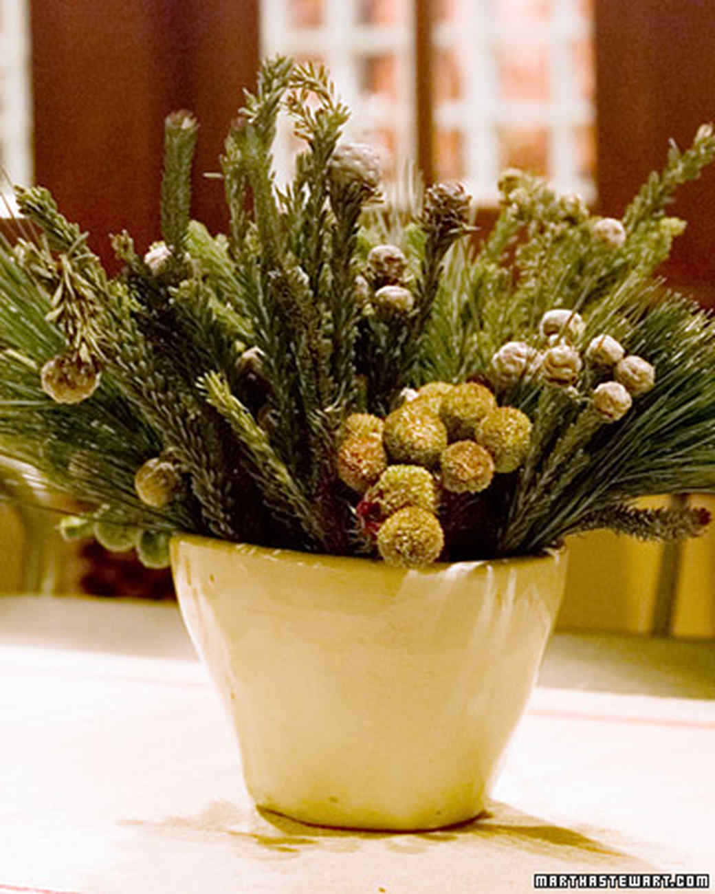 Holiday greenery martha stewart