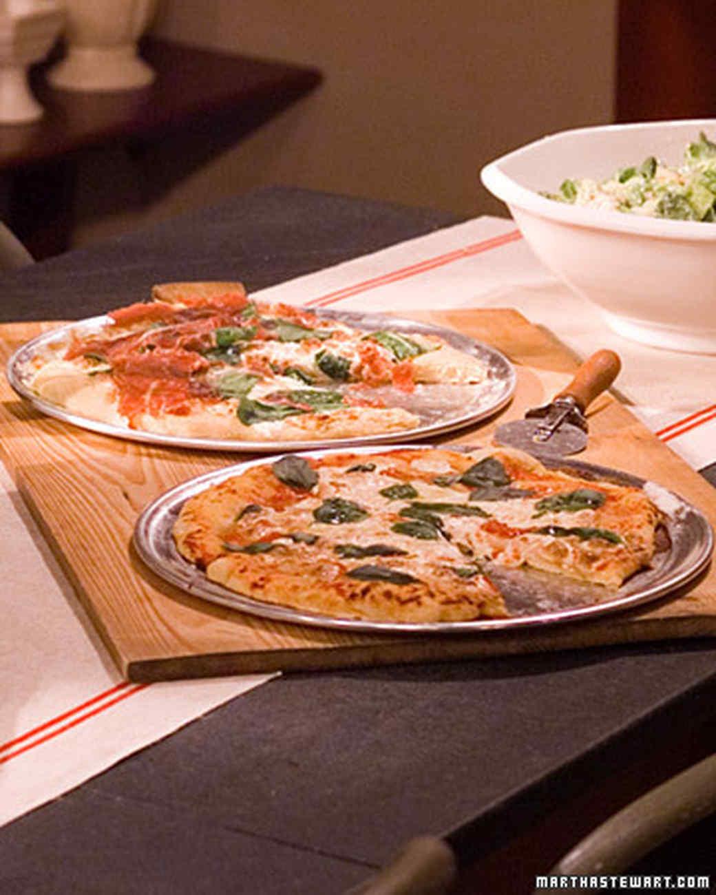 Prosciutto and Arugula Pizza Recipe | Martha Stewart