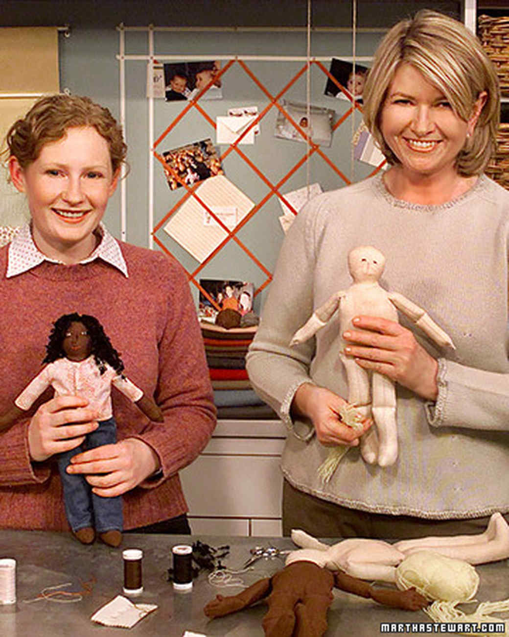 Making Dolls Martha Stewart