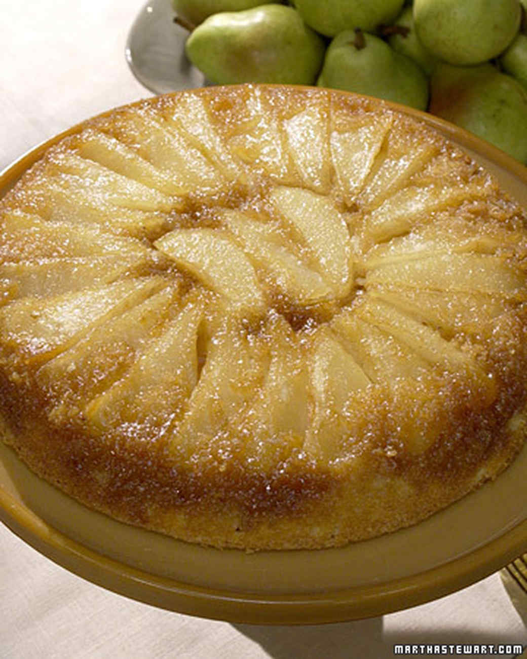 Pear Walnut Upside Down Cake America S Test Kitchen
