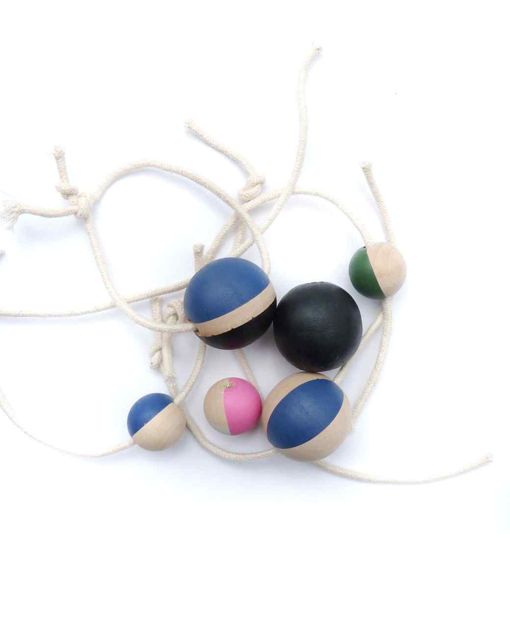 Chalk Painted Beads