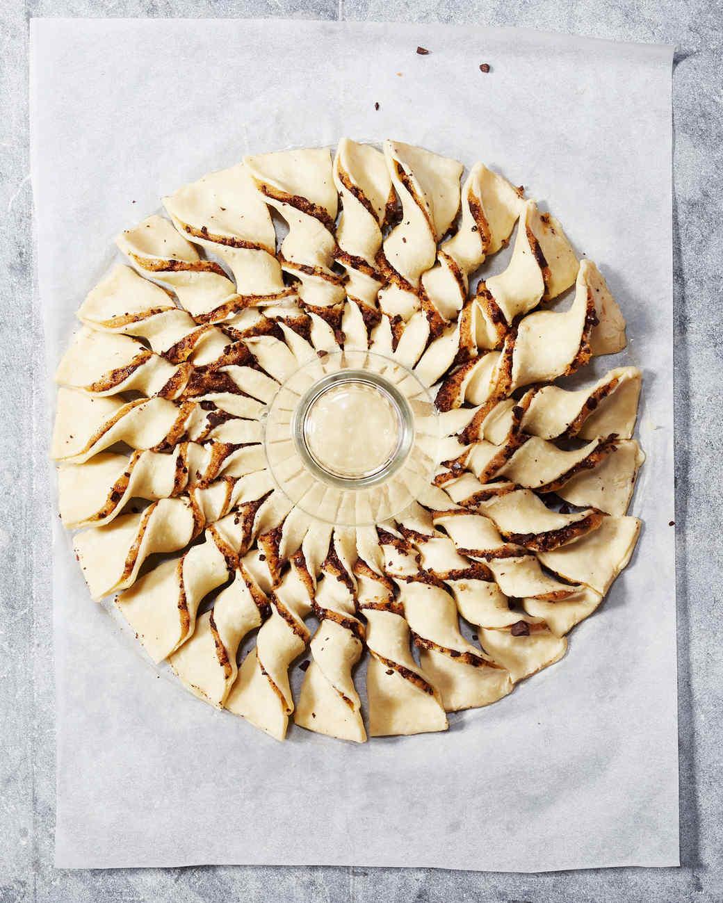 Chocolate-Sesame Tarte Soleil Pie