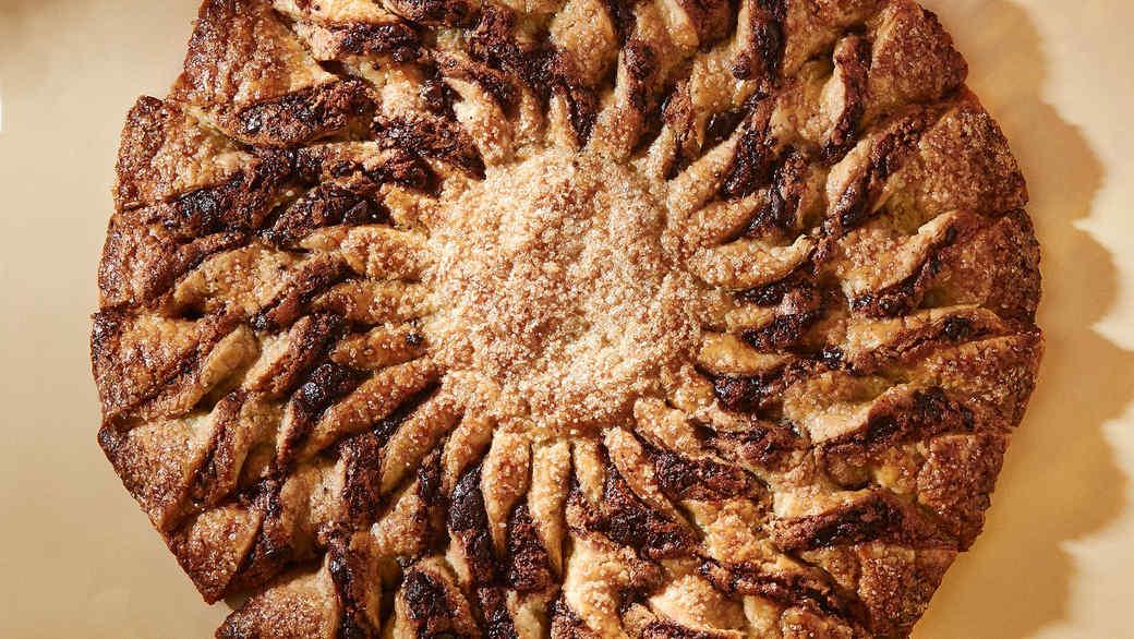 Chocolate-Sesame Tarte Soleil