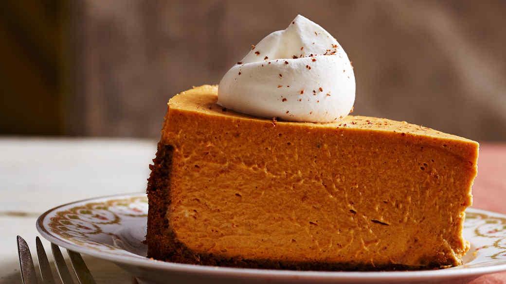 Deep-Dish Pumpkin Icebox Pie