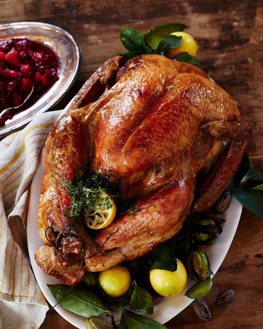 Grilled Salt-and-Pepper Turkey with Giblet Gravy