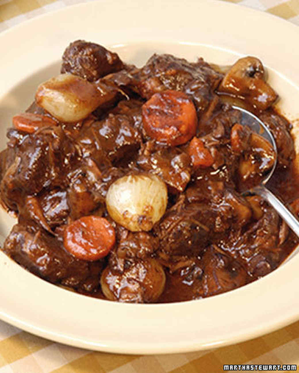 Boeuf Bourguignon Recipe & Video | Martha Stewart