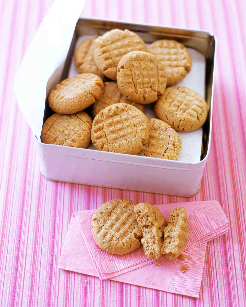 Recipes to peanut butter cookies
