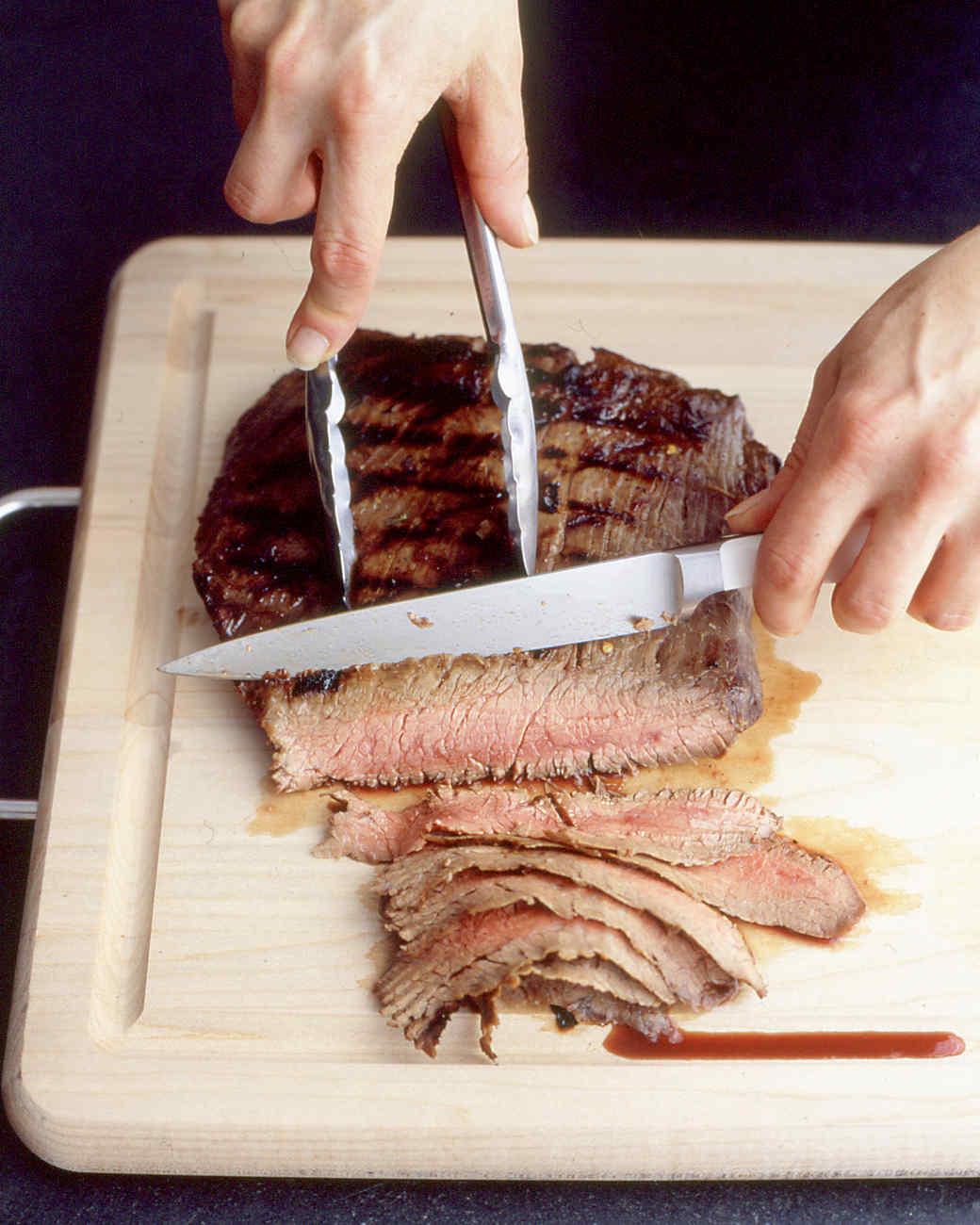 Flank Steak with Lime Marinade Recipe | Martha Stewart